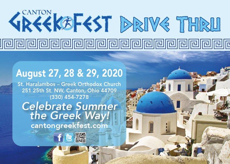 Canton Greekfest Drive-Thru • August 29